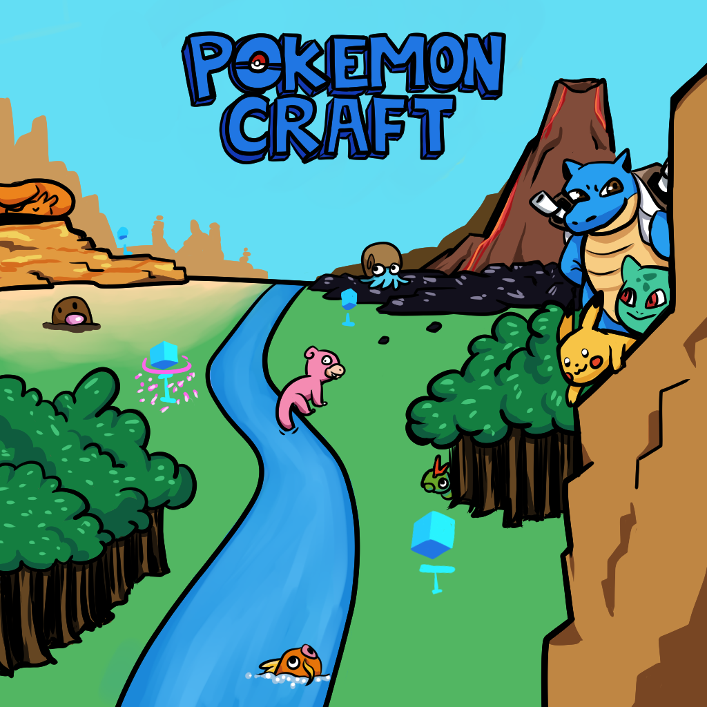 Pokemon Craft 1 0 0 Released on ATLauncher   Kehaan's Blog