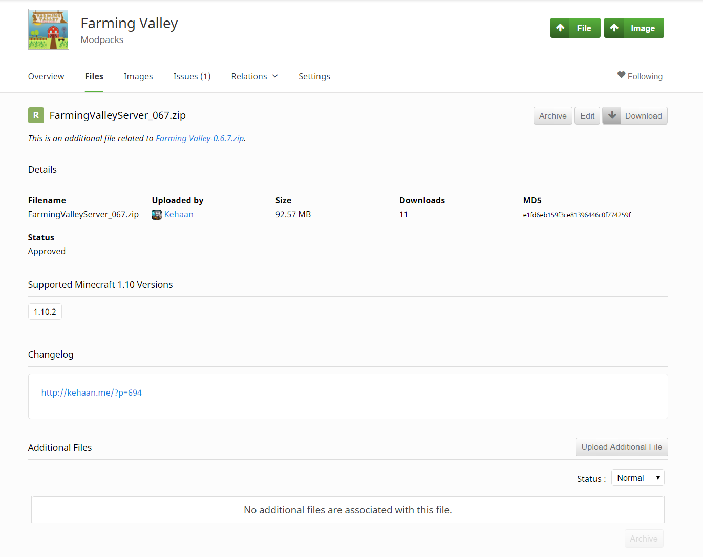 Farming Valley Server Files Kehaans Blog - Minecraft server erstellen 1 8 mit hamachi