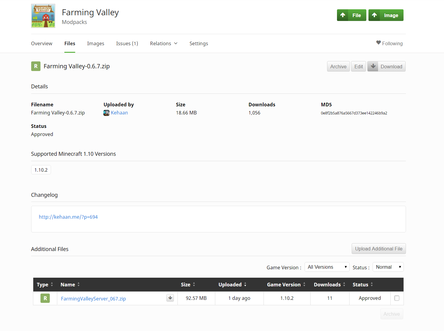 Farming Valley Server Files Kehaans Blog - Curse minecraft server erstellen